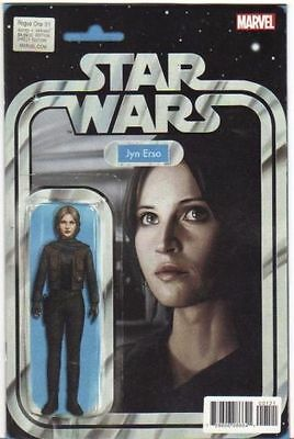 Marvel Star Wars Rogue One Movie Adaption #1 Figure Variant 1St Print