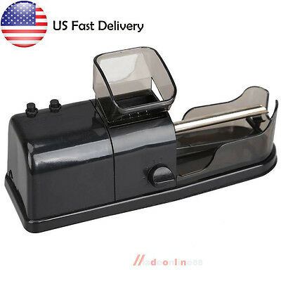 M3AO Black Electric Tobacco Roller Automatic Cigarette Rolling Machine