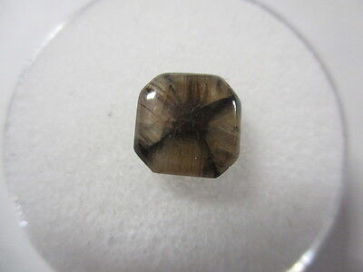 CHIASTOLITE [ ANDALUSITE] NATURAL UNTREATED CRUCIFORM PROFILE 3.78Ct  MF1665