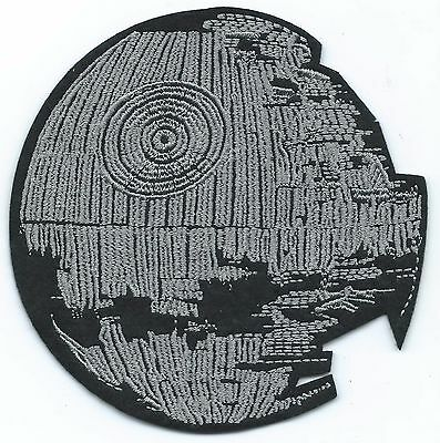 Death Star Embroidered Patch Iron-on Art Good Luck Charm Magic Star Wars