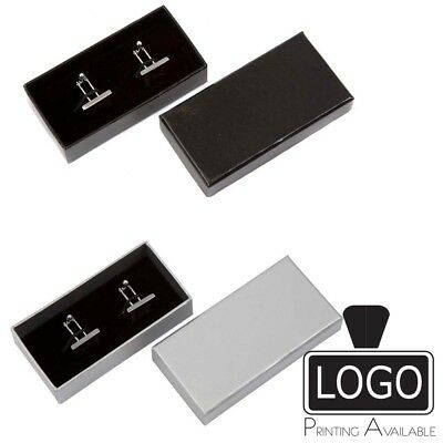 Glossy Laminated Jewellery Cufflinks Boxes Large Letter Size 84x40x20mm RFTP09