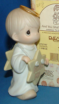 Precious Moment Figurine, 272787 And You Shall See A Star, Nativity Addition MIB