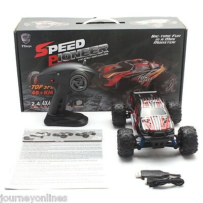 PXtoys RC Racing Car RTR 9300 1:18 4WD 40km/h / 2.4GHz Full Proportional Control