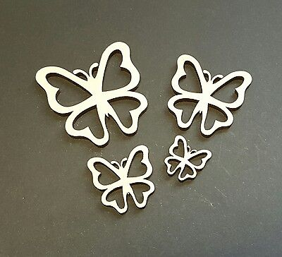 Butterfly MDF Craft shape special occaision kids party style 2