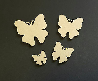 Butterfly MDF Craft shape special occaision kids party style 3