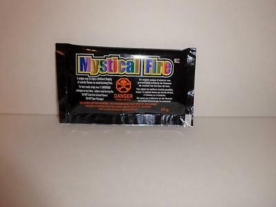 100 Pack Mystical Fire- Changes the color of fire campfire fireplace Color Flame