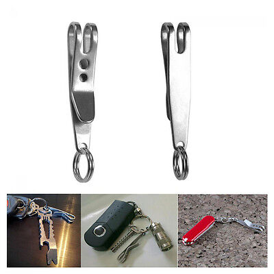Belt EDC Hanger Pocket Holder Clip Stainless Steel