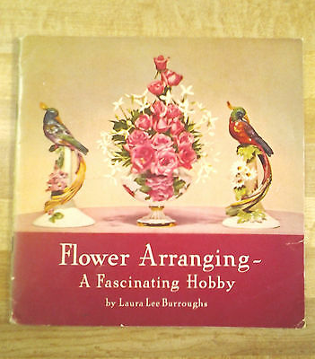 3 Flower Arranging Books produced by Coca Cola Co. in 1941-1942-1943