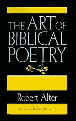 The art of Biblical poetry by Robert Alter (Paperback)