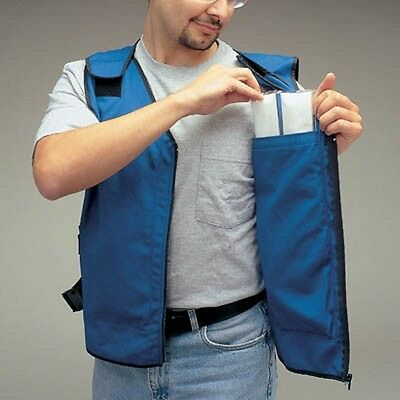 Cooling Vest with Feather Ice Inserts