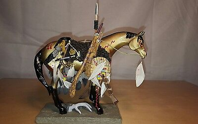 Trail Of Painted Ponies: Medicine Horse ~ 5E 4884 Resin/retired