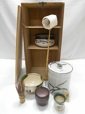 Tea Set Japanese Tea Ceremony Traditional Vintage #71