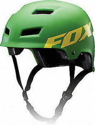 Brand New Fox Transition Hard Shell Large Green Mtb Bike Helmet