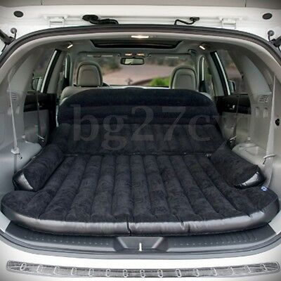 Inflatable Car Seat Sleep Rest Mattress Air Bed Travel Camping Sleeping Pad Mat