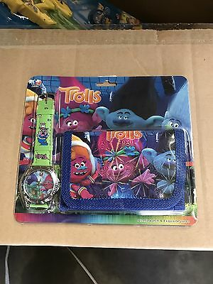 Troll watch and wallet set