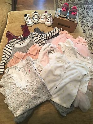 Ralph Lauren, Monsoon, Next,Ugg And Converse Bundle Baby Girl Size 9 Months