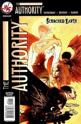 Authority: Scorched Earth (2002 One Shot) #   1 (NrMnt Minus-) (NM-) AMERICAN