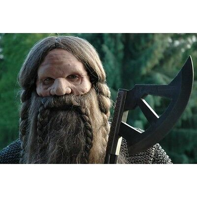 Application Prosthetic Face Mask for Dwarf Inc Fixative Fancy Dress Cosplay LARP