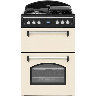 Leisure GRB6GVC Gourmet Free Standing A+/A Gas Cooker with Gas Hob 60cm Cream