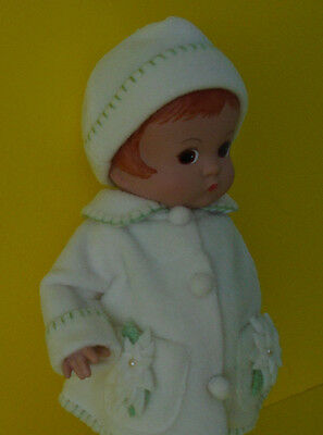"Cute 12"" Early Vinyl Tonner/Effanbee Patsy A/O Dressed Doll - Hurley, NY"