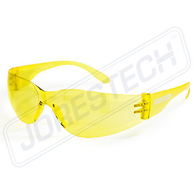 SAFETY GLASSES ANSI Z87.1 COMPLIANT JORESTECH VARIETY PACKS Amber Yellow