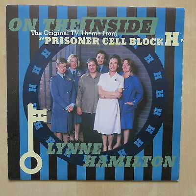 """LYNNE HAMILTON On The Inside Theme From Prisoner Cell Block H UK 7"""" in picture s"""