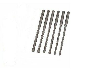 Kit 6 Punte Trapano Per Muro Drill Set 6-8-12-14-16 Mm. H. 450