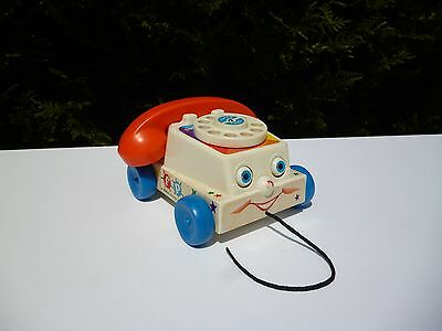 ☺ Jouet Telephone Fisher Price Année 2005 Mattel