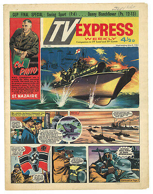 TV Express Weekly No 340 May 6 1961 comic COL PINTO BIGGLES