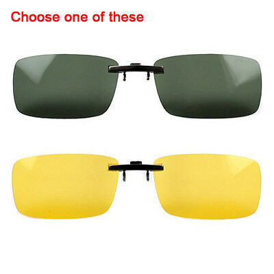 Polarized Sunglasses Clip on Eyeware for Myopia for Day/Night Sports/Driving