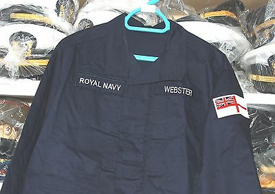 Royal Navy Current Personal Clothing System (Pcs) Warm Weather Shirt (C).