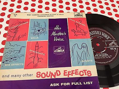 His Masters Voice - Sound Effects 7""