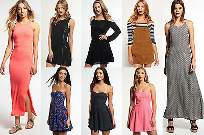 New Womens Superdry Dresses.Various Styles & Colours