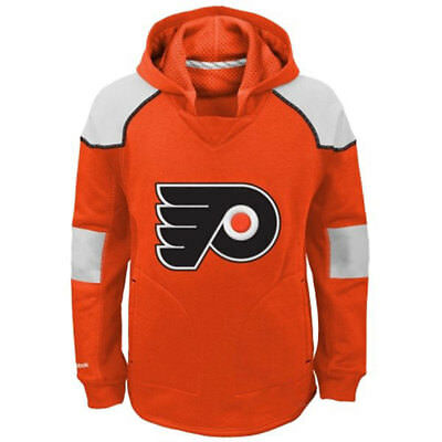 Philadelphia Flyers Reebok Youth Face Off Pullover Hoody L