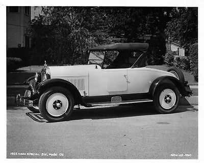 1925 Nash Special Six Model 132 Factory Photo ad5302