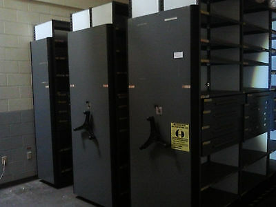 Shelving Cabinet System (High Density Mobile) - Mechanical Assist - Spacesaver