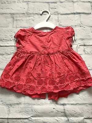 Baby Girls Clothes 9-12  Months -Pretty  Tunic Top -