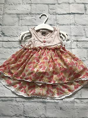 Baby Girls Clothes 9-12  Months - Pretty  Girl. Tunic Top
