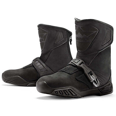 Icon Raiden Treadwell Boots Dual Sport Black/ Stealth ALL SIZES 8-14 US Mens