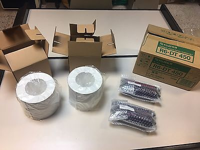 FujiFilm Thermal Photo Paper Ribbon Set T R6-DT450 450 Prints for Fuji ASK 1500