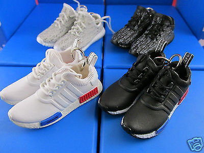3D Mini Sneaker Leather Keychain Adidas NMD R1 OG Yeezy Boost 350