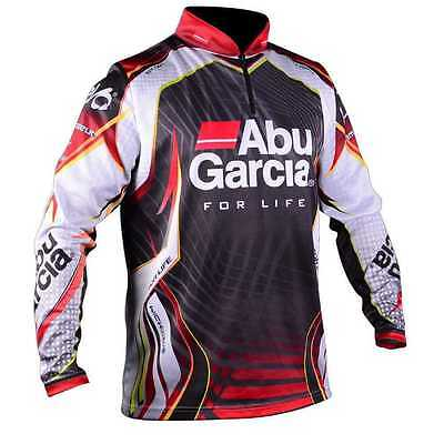 Abu Garcia Long Sleeve Pro Tournament Fishing Shirt BRAND NEW + All Sizes
