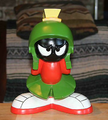 """Marvin the Martian warner brothers store figure 12"""" 1998 looney toons"""
