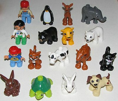 Lego New Duplo Animals Puppy Dog Bunny Lion Bear Pets You Pick Which Animals