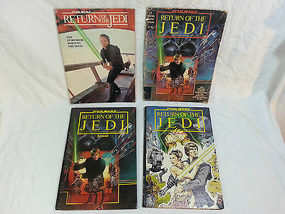 1983 Vintage Star Wars Return of the Jedi Annual / Movie Book / Marvel Comic Lot
