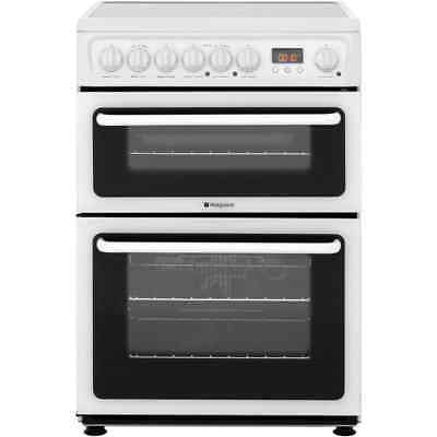 Hotpoint HAE60PS Newstyle Free Standing Electric Cooker with Ceramic Hob 60cm