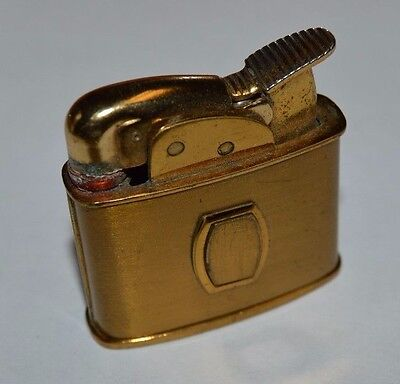 Vintage Small Brass EVANS Ladies Cigarette Lighter REPAIR OR PARTS Rare