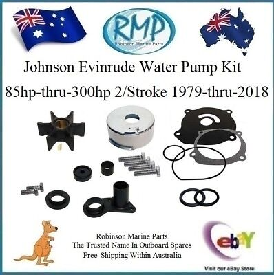 A Brand New RMP V4 V6 V8 Water Pump Kit Evinrude Johnson 1979-Thru-2018 R 395060
