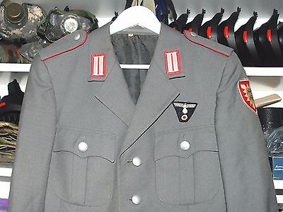 German Officers Parade Uniform Jacket With Insignia (J).