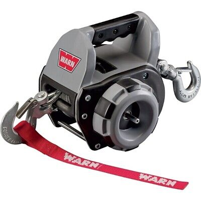 Portable Electric Drill Powered Winch Towing Recovery Trailer Boat - Warn 910500
